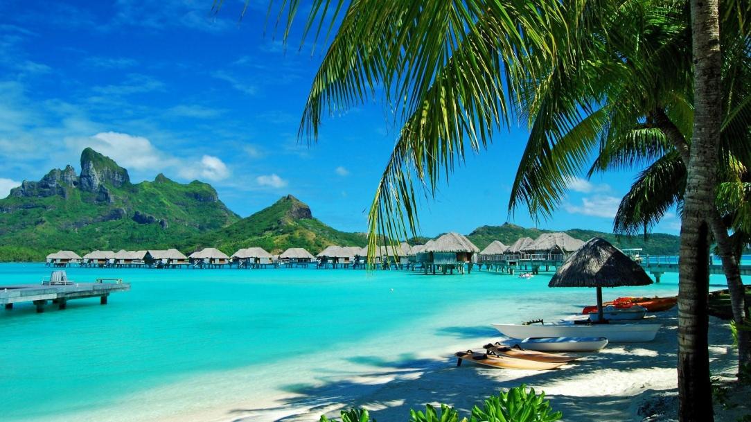 hawaii_coast_resort_rest_palm_trees_lagoon_blue_water_54603_3840x2160